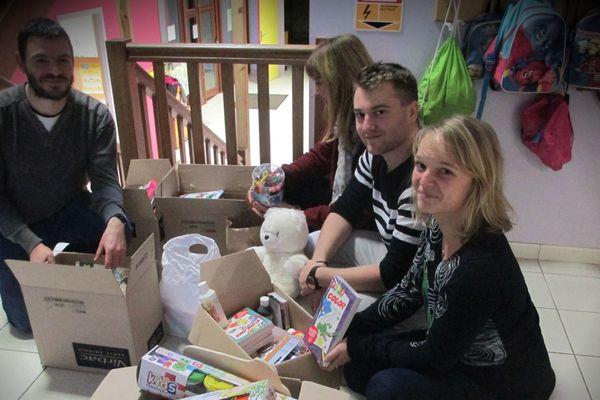 Les dons recueillis par l'école primaire d'Entrange en Moselle