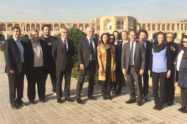 La délégation normande ce mercredi à Ispahan, capitale culturelle de l'Iran