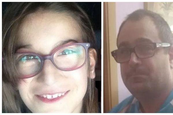 La fille de 11 ans et son père sont activement recherchés.