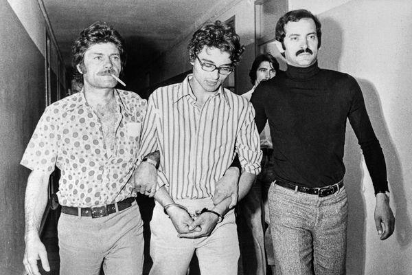 Arrestation de Christian Ranucci, en juin 1974.