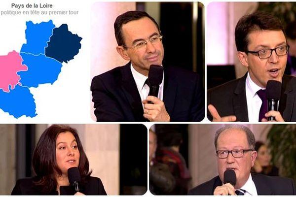 Les résultats des Régionales 2015 en Pays de la Loire département par département