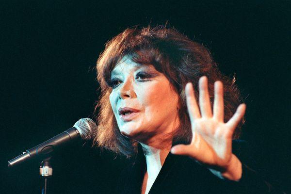 Concert de Juliette Gréco à Hambourg en 1992, à une époque où le batteur Limougeaud Jean-Marc Lajudie l'accompagnait.