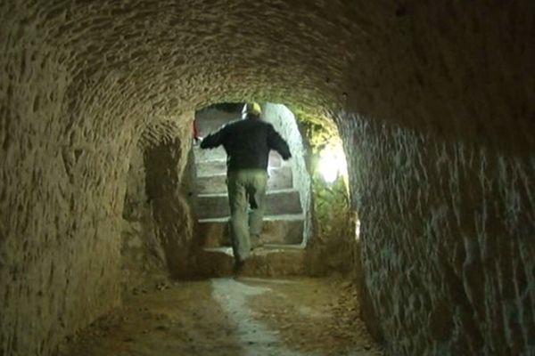 Reims : un sous-sol creux truffé de crayères.