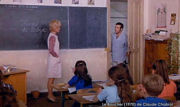 Dans la figuration, les habitants de Trémolat eux-mêmes, y compris les enfants de l'institutrice