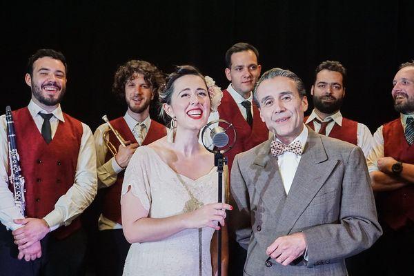 """Le concert """"Noël Swing"""" par la Shoeshiners Band est à voir le mercredi 9 décembre en deuxième partie de soirée sur France 3 Provence-Alpes-Côte d'Azur."""
