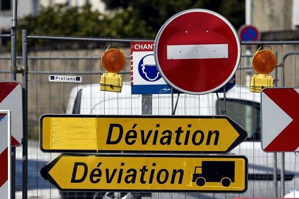 En Haute-Loire, la RN 102 sera fermée à la circulation pour travaux pendant 2 semaines à partir du lundi 29 juin.