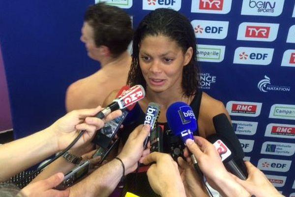 La nageuse du club de Montpellier Coralie Balmy s'est qualifiée pour les JO sur 400 m libre - 30 mars 2016