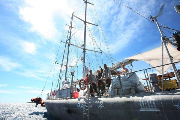 La célèbre goélette Tara fait escale dans le port de Toulon du dimanche 25 au jeudi 29 août.