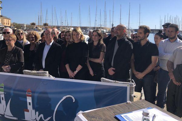 Paul-Félix Benedetti a présenté les 42 noms qui l'accompagneront aux élections municipales, samedi 15 février.