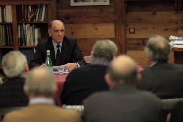 Augusto Rollandin, président de la Région Vallée d'Aoste