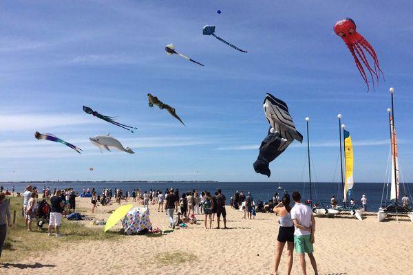 Festi'vent fête sa 10e édition sur la plage des Bretons de Turballe