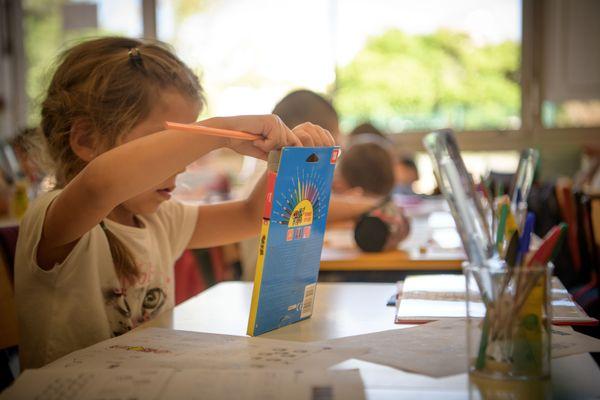 Image d'illustration, lors de la rentrée scolaire de 2019