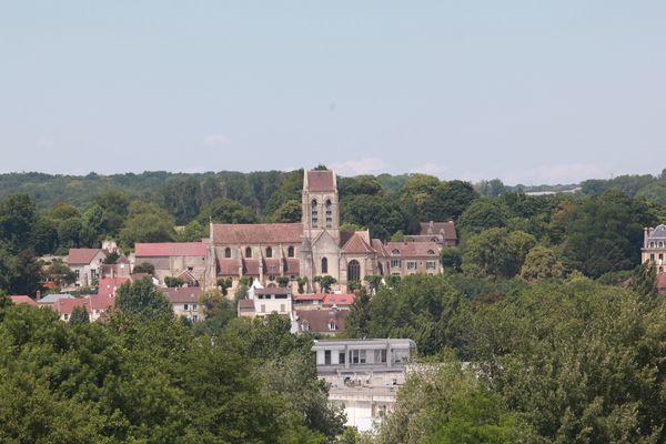 Une vue sur Auvers-sur-Oise, dans le Val-d'Oise.