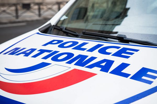 Un véhicule de police (illustration).
