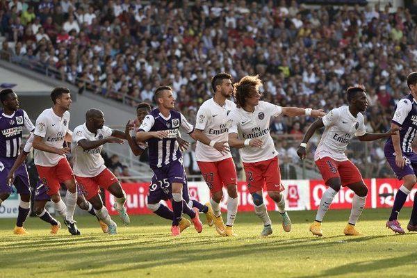 Lors du match aller, le Paris Saint-Germain et Toulouse s'étaient quitté sur le score de 1-1.