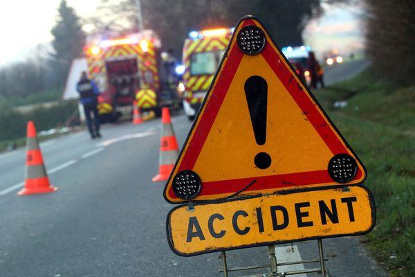 Illustration : les sapeurs-pompiers sont intervenus sur l'accident.