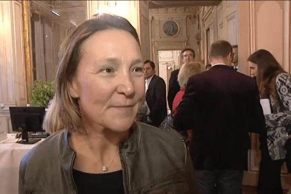 Carole Montillet, ex-championne de ski et numéro 2 de la liste LR en Isère