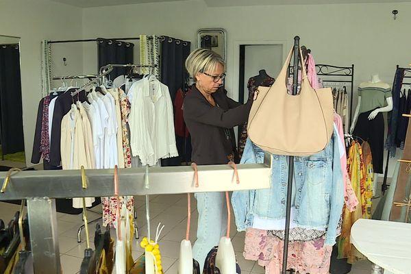 Dominique Pedrina prépare l'ouverture de sa boutique de prêt à porter