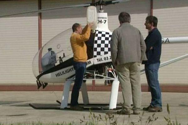 Château-Thierry : piloter un hélicoptère ULM