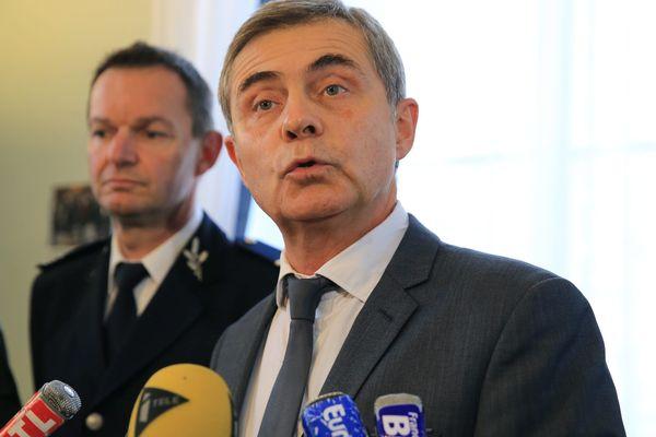 Dominique Alzeari, le procureur de la République de Toulouse.