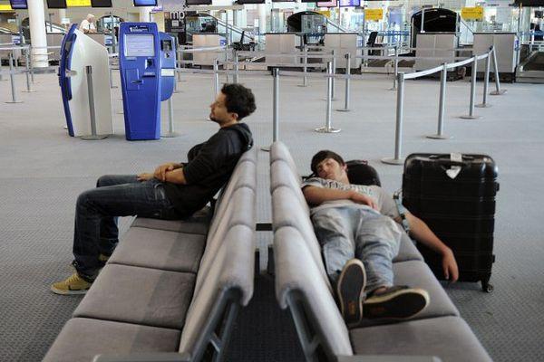 Un tiers des vols est annulé ce lundi à l'aéroport de Marseille-Provence.