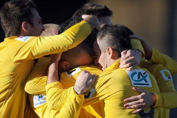 La victoire de l'équipe de football de Mende le 6 janvier 2013