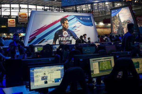 La présentation de Fifa19 à la Paris Games Week de 2018 (Photo d'illustration)