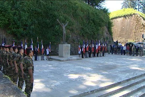 A Belfort, la cérémonie en mémoire des victimes des persécutions racistes et antisémites s'est déroulée sous très haute surveillance.