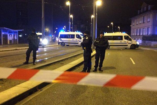A Strasbourg, le mardi 11 décembre, soir des attentats.