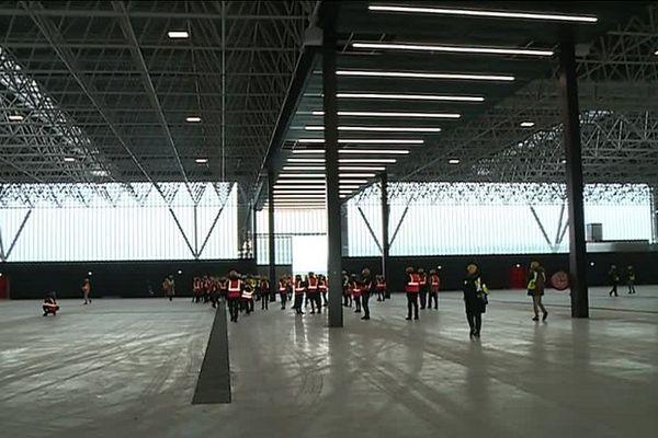 45 000 m² disponibles à l'intérieur du centre des expositions.