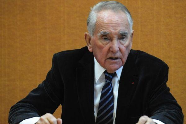 Le sénateur René Teulade ( 2010)
