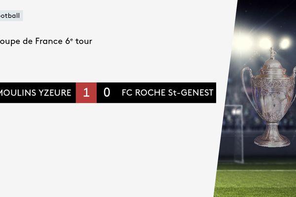 Moulins Yzeure s'est imposé fac au FC Roche Saint-Genest.