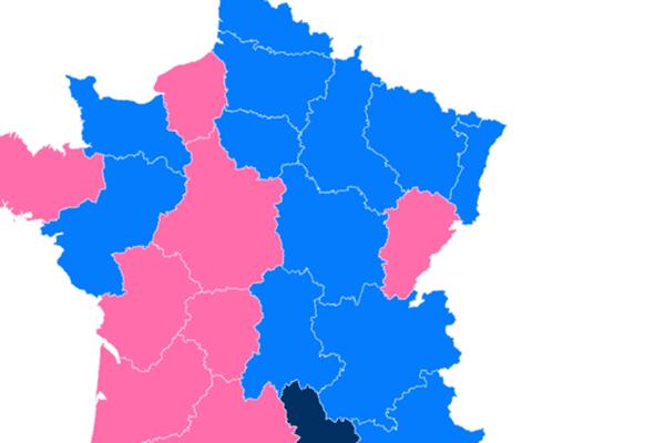 Carte régionales sans fusion