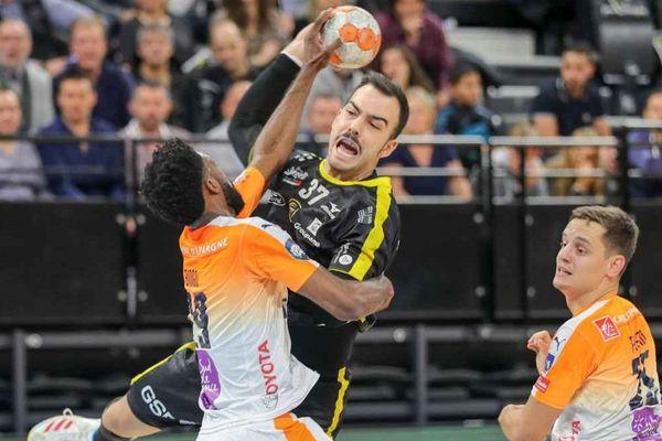 Handball / 11e journée du Championnat de France, Chambéry Savoie Mt Blanc contre Montpellier.