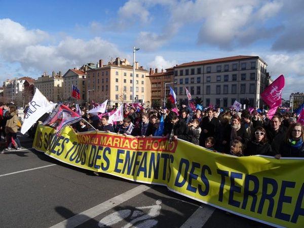 Une manifestation avait déjà été organisée en 2014 à Lyon