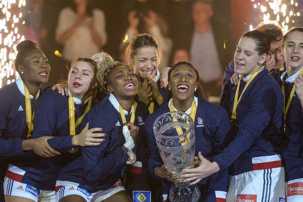 L'équipe de France féminine championne du monde de handball