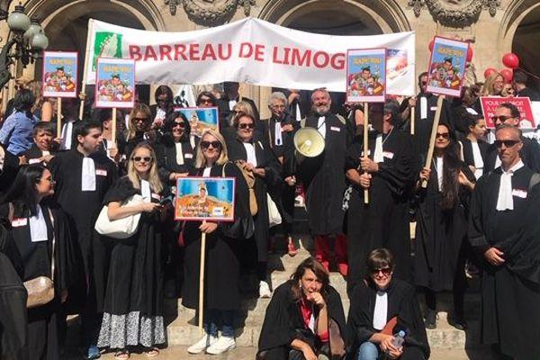 Les avocats limousins à Paris