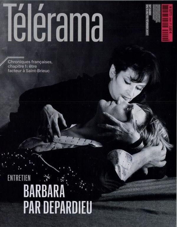 Le magazine Télérama consacre une longue interview de Gérard Depardieu sur son amitié avec la chanteuse.