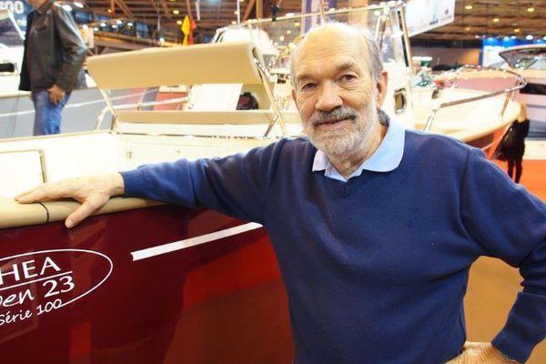 Michel Joubert, une vie consécrée à dessiner des bateaux