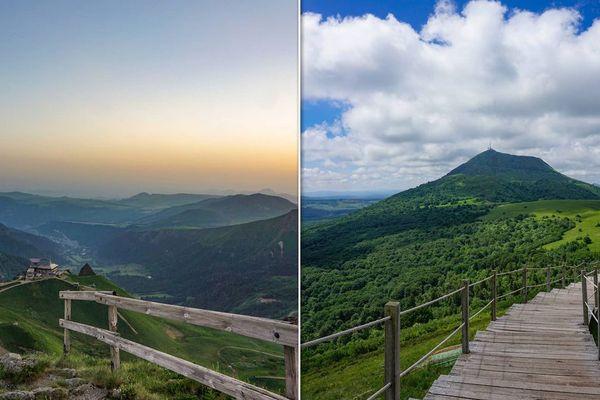 L'Auvergne source d'inspiration pour les photographes amoureux de beaux paysages.