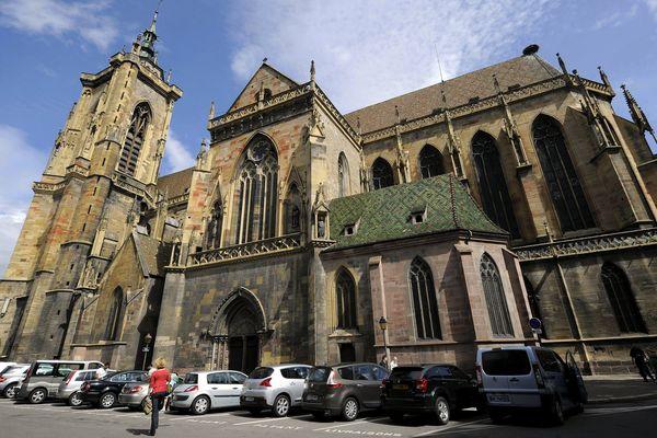 La collégiale St Martin à Colmar