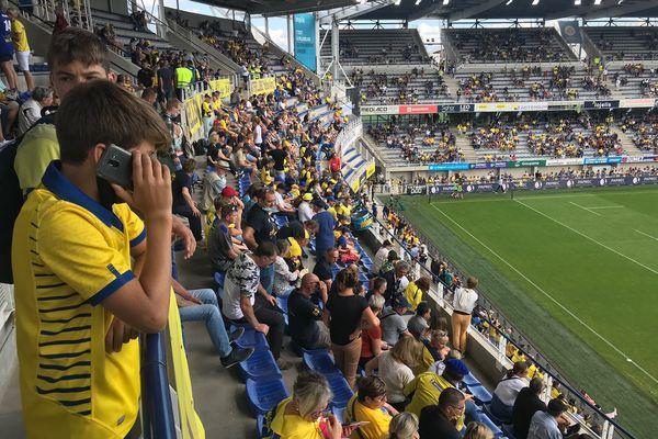 Les travées du stade Marcel Michelin ont retrouvé le public. Mais les supporters n'ont pas retrouvé le sourire : l'ASM a perdu ce premier match à domicile 30 à 34 face à Castres.
