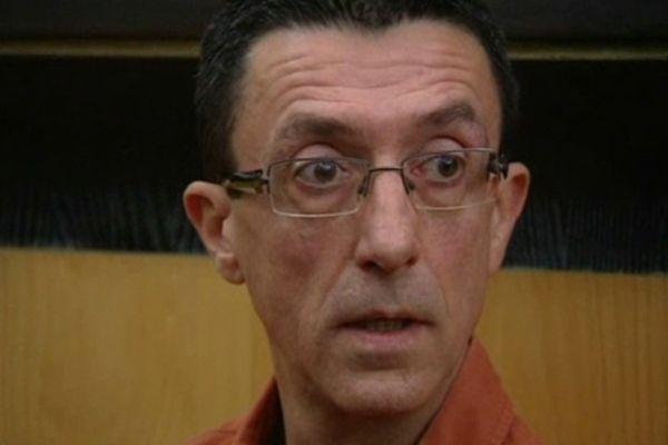 Procès Mistler Perpignan : Frantz Diguelman dans le box des accusés - 18 octobre 2012.