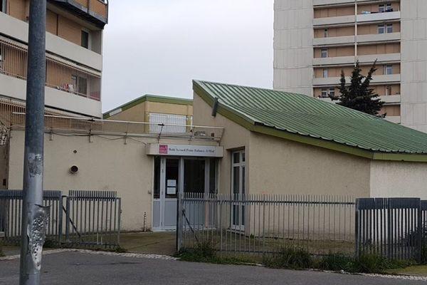 Huit salariées sont en grève contre la fermeture en septembre de la crèche de l'Oeuf dans le quartier de la Busserine.