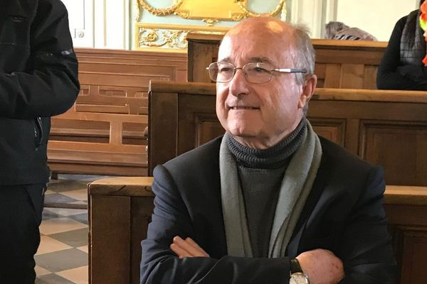14/03/19 - Le maire d'Orange Jacques Bompard jugé devant le tribunal correctionnel de Carpentras (Vaucluse).