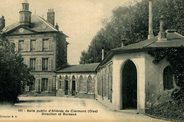 L'asile de Clermont, devenu public en 1887.