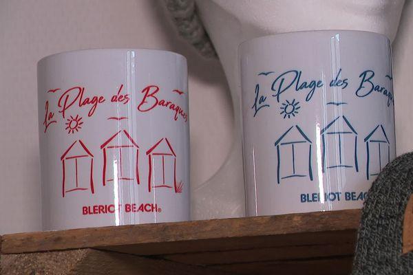 Les chalets de Blériot-Plage dessinés par Delphine Fasquelle