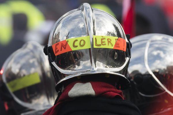 Un accord a été trouvé pour les pompiers d'Indre-et-Loire, mais la grève nationale se poursuit. Photo d'illustration