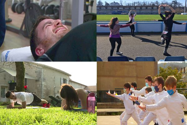 Ras-le-bol de ce confinement qui n'en finit plus, les périgourdins trouvent des solutions pour pratiquer leur sport favoris... dans le respect des gestes barrière et la bonne humeur !