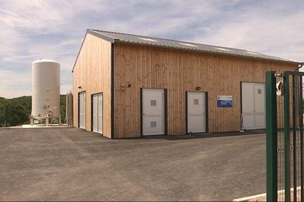 L'unité de production d'eau potable de Chênesaint, à La Roche-en-Brenil (21)